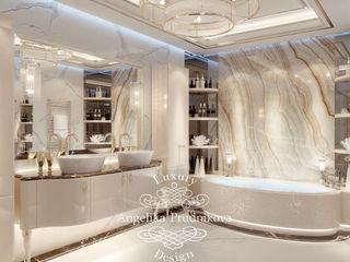 Дизайн-студия элитных интерьеров Анжелики Прудниковой Modern bathroom