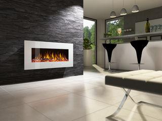 muenkel design - Elektrokamine aus Großentaft Sala multimediaAccesorios y decoración