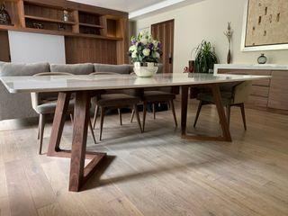 Muebles y Celosías Revah Arqs Comedores modernos Madera Acabado en madera