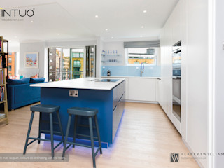 Intuo Blue Bling Intuo Built-in kitchens Blue