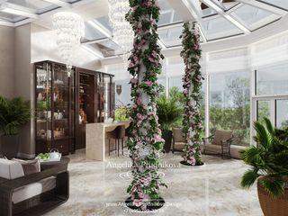 Дизайн-студия элитных интерьеров Анжелики Прудниковой Modern conservatory
