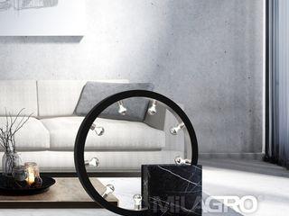 Collection of Marble lamps designed by International Fashion Designer Luxury Chandelier LTD Moderne Wohnzimmer Marmor Schwarz
