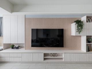 清新北歐溫暖宅 你你空間設計 客廳