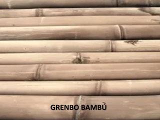 GRENBO Paisagismo de interior Bambu Efeito de madeira