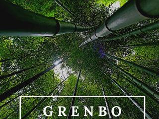 GRENBO Hotéis asiáticos Bambu Efeito de madeira