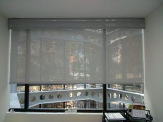 Gobash Вікна & Дверi Жалюзі та жалюзі Сірий
