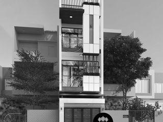 Thiết kế nhà phố đẹp 3 tầng hiện đại tại quận 11 tphcm NEOHouse