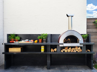 Cocina exterior para pequeños espacios Alfa Forni Cocinas pequeñas