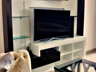 Diseños en Madera Colomex Living room Wood Wood effect