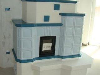 Dallago Stufe HouseholdAccessories & decoration Ceramic Turquoise