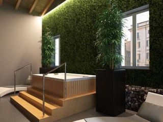 RESORT SPA Effimera Beauty Wellness Spa Hotel moderni Metallo Grigio