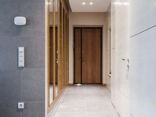 Wide Design Group Couloir, entrée, escaliers minimalistes