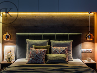 DK Capsule Design 寝室ベッド&ヘッドボード