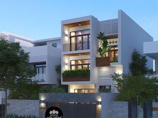 Mẫu biệt thự đẹp 3 tầng theo phong cách hiện đại 2019 NEOHouse