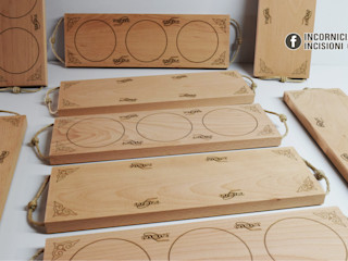 INCORNICIARE KuchniaNaczynia i urządzenia kuchenne Lite drewno Brązowy