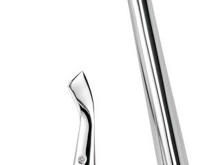 Línea de grifos y accesorios de baño HELVEX by DESIGNERS, PIURA Collection MANUEL TORRES DESIGN BañosGrifería Metálico/Plateado