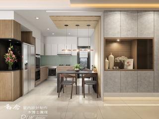 侑信觀邸 木博士團隊/動念室內設計制作 餐廳 MDF