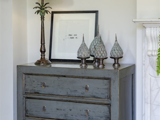 The Hampton Collection Orchid Dressing roomStorage Wood Grey