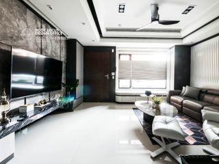 築本國際設計有限公司 Modern Living Room