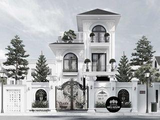 Thiết kế biệt thự tân cổ điển 3 tầng đẹp tại Long Xuyên NEOHouse