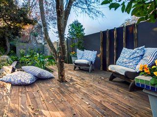 Young Landscape Design Studio Giardino in stile rustico