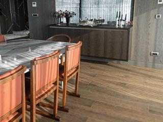 Lantana Parke Modern Living Room Wood