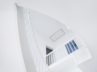 Müllers Büro Stairs Reinforced concrete White