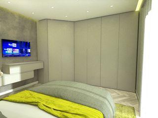 Progetto appartamento per Arredamento Moderno Napoli Meka Arredamenti Camera da letto moderna