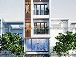 Công ty xây dựng nhà đẹp mới Nowoczesne domy
