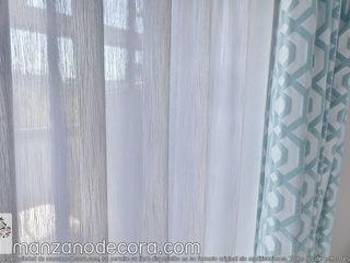 Manzanodecora 창문 & 문Gardinen und Vorhänge 파랑