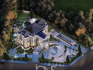 Finest and Luxurious Home Design IONS DESIGN Villas Stone White