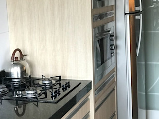 LK Engenharia e Arquitetura 置入式廚房