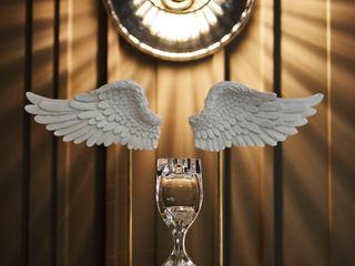 Afyon house Esra Kazmirci Mimarlik Living roomLighting Glass Amber/Gold
