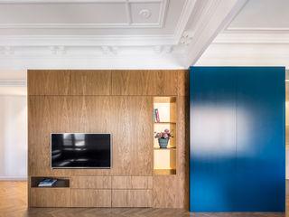amBau Gestion y Proyectos Moderne Wohnzimmer