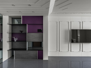 肯星室內設計 Klassieke woonkamers