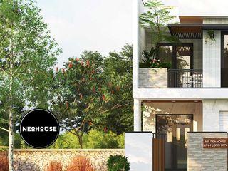 Mẫu thiết kế nhà phố đẹp hiện đại 2 tầng tại Vĩnh Long NEOHouse