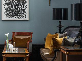 GRANDHOTEL SCHLOSS BENSBERG | Interior Design MARKUS HILZINGER Klassische Bars & Clubs Blau