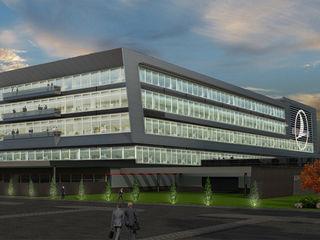 4Faz Tasarım Mühendislik Mimarlık Danışmanlık Ltd. Şti. Modern airports Glass Grey