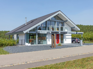 Musterhaus Luxemburg DAVINCI HAUS GmbH & Co. KG Moderne Häuser