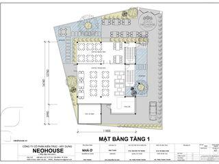 Mẫu thiết kế biệt thự 3 tầng đẹp hiện đại kết hợp kinh doanh Cafe NEOHouse