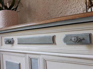 Trasforma i tuoi mobili vecchiotti in stile shabby! Mobili a Colori Cucina piccola Legno Bianco