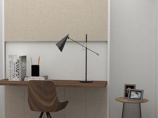 Escritórios ou espaços de trabalho com glamour! Casactiva Interiores Escritórios modernos