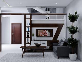 I Nova Infra SalonMeubles télévision & multimédia Effet bois