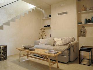 CONSCIOUS DESIGN - INTERIORS 客廳邊桌與托盤 砂岩 Beige