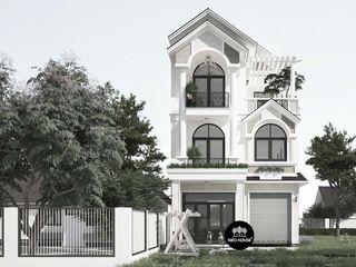 Mẫu biệt thự 3 tầng mái thái đẹp phong cách hiện đại tại An Giang NEOHouse