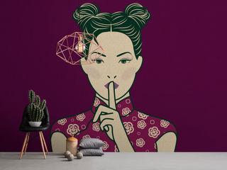 A.S. Création Tapeten AG Salones de estilo moderno