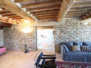 marco carlini architetto Landelijke woonkamers