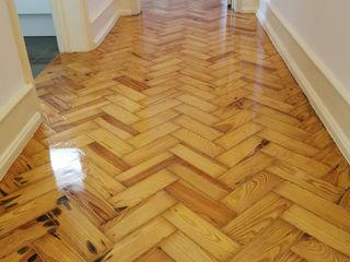 Decor-in, Lda Colonial style corridor, hallway& stairs Wood