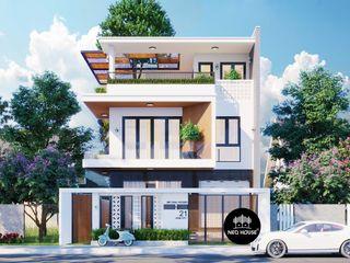 Mẫu thiết kế biệt thự đẹp 3 tầng hiện đại tại Tphcm NEOHouse
