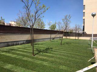 Instalación de césped natural en tepes JARDINERIA PACHECO S.L